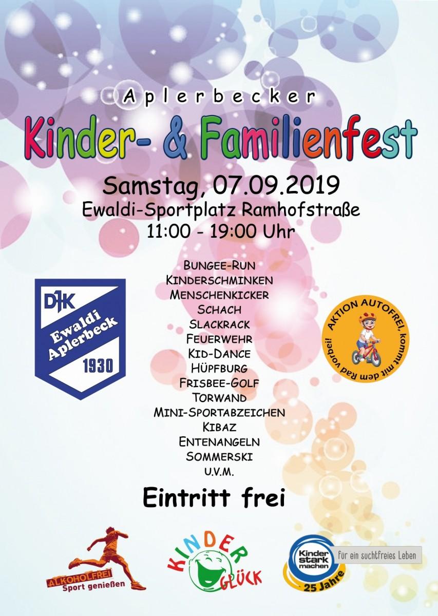 Aplerbecker Kinder- und Familienfest 2019