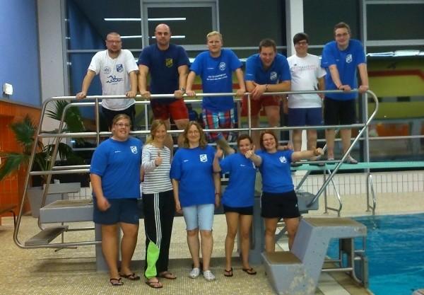 Team und Ansprechpartner DJK Ewaldi Schwimmen