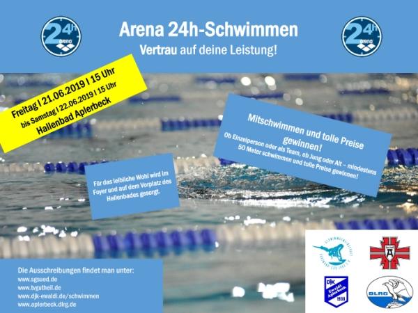 24 Stunden Schwimmen in Aplerbeck 2019